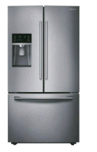 "Samsung 36"" 22.5 Cu. Ft. French Door Refrigerator - Stainless St"