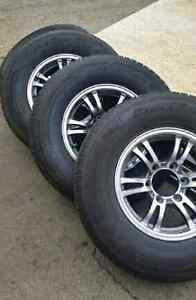 New 235 80 16 HD trailer tires on ALUMINUM OR STEEL RIMS
