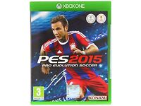 XBOX ONE - PES 2015 PRO EVOLUTION SOCCER - NEW - £2 ONLY
