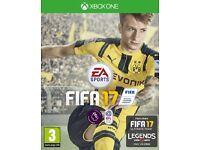 EA FIFA 17 xbox one digital code on scratch card, new unused.