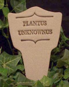 ** PLANTUS UNKNOWNUS ** Humor in the Garden MARKER decor