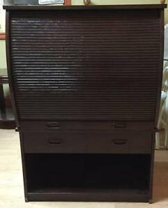 ROLL TOP TV CABINET OR BAR