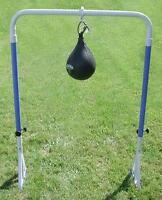 Structure de ballon poire ballon poing en métal