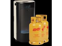 Flo Gas Blue Belle - Chic Portable Butane Heater