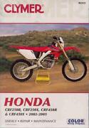 Honda CRF250 Manual