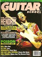 Revues guitares à vendre. Guitar magazines for sale.