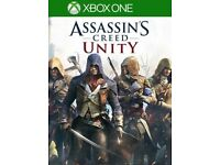 assassins creed unity full game download code ! price stands ,no offers !