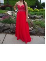 Red prom dress for sale