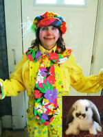 Candy The Clown, professional birthday party entertainer.