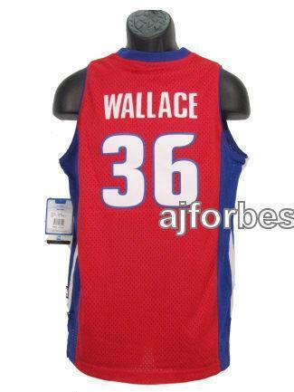 Rasheed Wallace Pistons Jersey | EBay