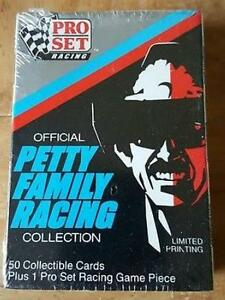 1991 NASCAR RICHARD PETTY COMPLETE CARD SET. UNOPENED!