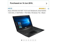 """ASUS X553SA XX168T 15.6"""" Laptop"""