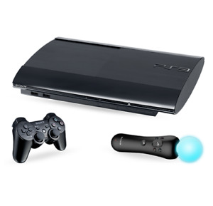 PS3 like new only motion control with it 320$ neg