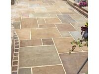 indian sandstone paving slabs cheap end of line sale