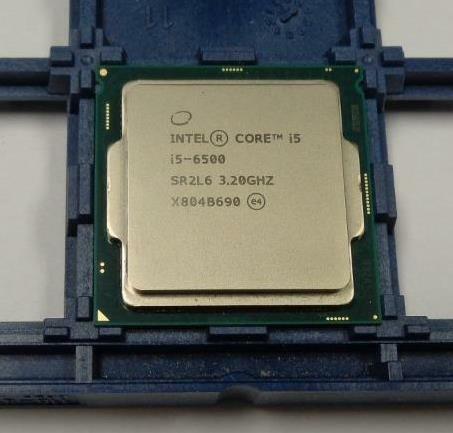 Intel Processor Core i5-6500 Quad Core 3.6GHz, 6MB Cache 8 GT/s LGA1151 SR2L6