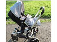 Xpedior 3in1 pram, buggy, car seat