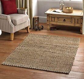 New Jute Floor Rug 170 x 120 c