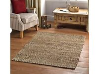 Brand New Jute Rug 120X170cm bargin