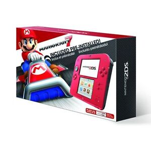 Nintendo 2DS Blue And Red Mario Kart
