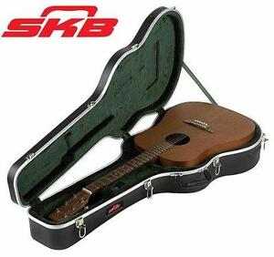 NEW SKB ACOUSTIC GUITAR CASE   STANDARD DREADNOUGHT HARDSHELL - STANDARD LATCHES - HANDLE  ACCESSORIES CARRIER M93613793
