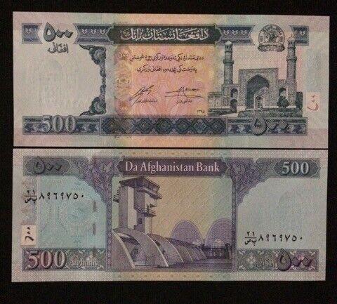 2017 Afghanistan 500 Afghanis ** 1395 ** ( P New ) - UNC -