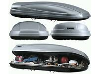 Thule & Exodus Roof Boxes To Hire Only...!!!