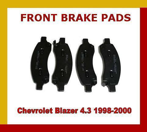 FOR CHEVROLET BLAZER S10 PICKUP 4.3 and FRONT DISC BRAKE PADS 1998- TOP QUALITY