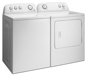 Seeking working washer and dryer