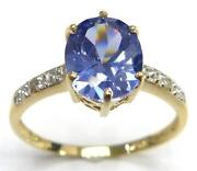 9ct Gold Tanzanite Ring