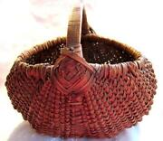 Antique Small Basket