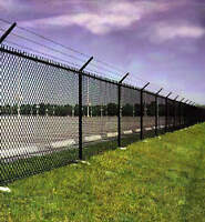 CHAIN LINK FENCE REPAIR AND GROUNDS MAINTENANCE