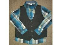 Shirt and vest,9-10yrs