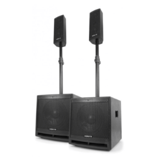 VONYX VX1000BT COMPLETE ACTIVE PA SPEAKER HIRE!