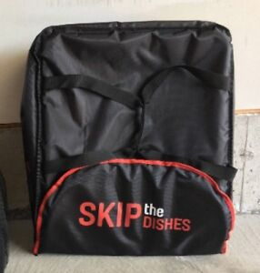New Skip the Dishes Thermal Pizza/Food Professional Carrying Bag