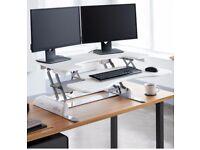 Varidesk Pro Plus 36 turns any desk into a standing desk sit-stand desk