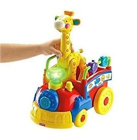 Fisher Price Amazing Animals Disney Sing-along and Go Choo Choo Train