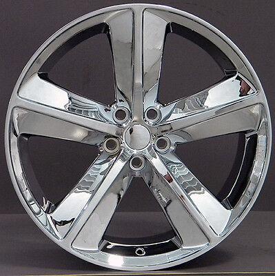20 Dodge Challenger Srt Style Wheel Rim 2329 Chrome 20x9 Fits 300 Charger Srt8