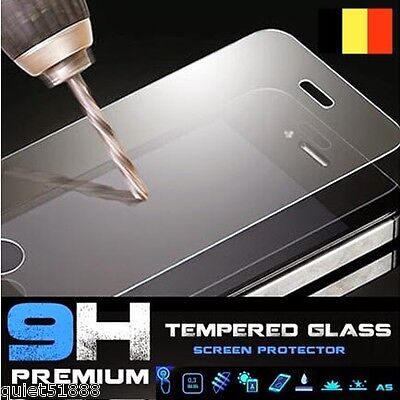 HQ Film en verre trempé,Glass film tempered protector H9 pour iPhone 6