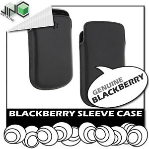 100% Genuine Blackberry 8520/8530/8900/9220/9320 Curve Leather Pouch Case Cover