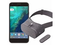 Brand new Google Pixel with Day Dream VR 32 GB, sim free