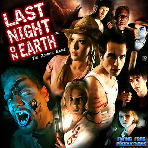 Last Night on Earth: The Zombie Game - Boardgame / Board game