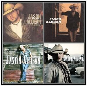 JASON ALDEAN BULK 4CD BUNDLE NEW SEALED CDs NIGHT TRAIN MY KINDA PARTY WIDE OPEN