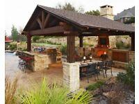Unique Garden Wooden Gazebo, Garden Party House.