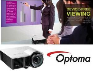 NEW OPTOMA LED 720P MINI PROJECTOR GT750ST 136762633 Electronics         Televisions  Video      Projectors