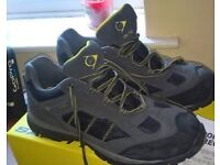 Steel toe capped shoes