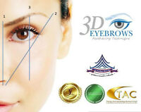 3D Eyebrow Tattoo (Feathering Microblading Technique)