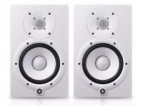 Yamaha HS5 speakers, White, Pristine Cond.