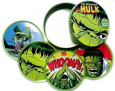 The Incredible Hulk Marvel - Set Of Four Drink Coasters (Mug Mats) In Custom - The Hulk Drink