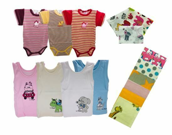 Body für Baby günstige Windeln Junge Mädchen 62 68 74 80 kurzarm Hemden 70x80