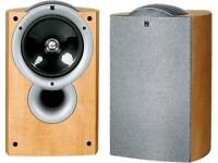 KEF Q1 SERIES SPEAKERS AND CENTRE SUBWOOFER